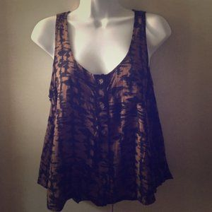 Super cute high low tank
